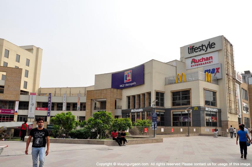Shopping Malls in Gurgaon: MGF Metropolis Mall, MG Road, Gurgaon