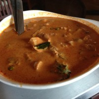 Thai Chicken in Red Curry - Wokamama