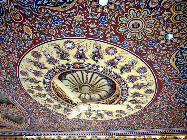 Fresco Painting at a Haveli in Mandawa