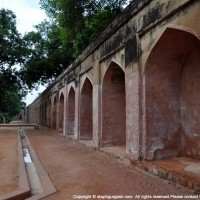 Walkways in Humayun's Tomb