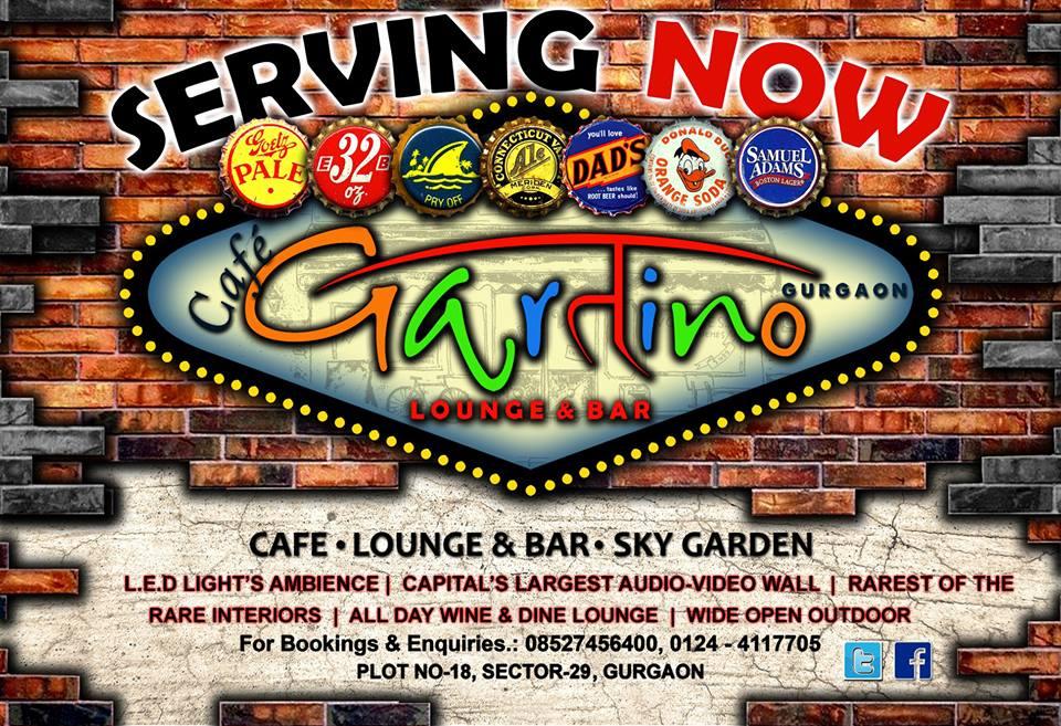 Cafe Gartino Sector 29 Gurgaon
