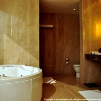 Bath with jacuzzi in luxury room at Anya, Gurgaon