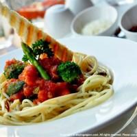 Spaghetti Arrabiata, The Cafe, Anya Hotels, Gurgaon