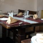 Mughal Mahal Menu - Table Layout