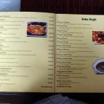 Mughal Mahal Menu - Vegetarian Mains