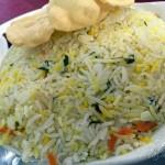 Malabar Spl Chicken Biryani @ Malabar Hotel