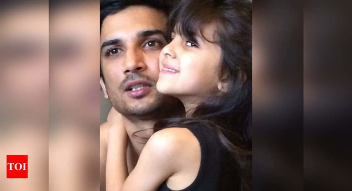 sushant-singh-rajput's-picture-with-his-niece