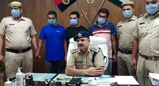 ससुर-की-सुपारी-देकर-हत्या-कराने-वाला-दामाद-साथियों-संग-गिरफ्तार