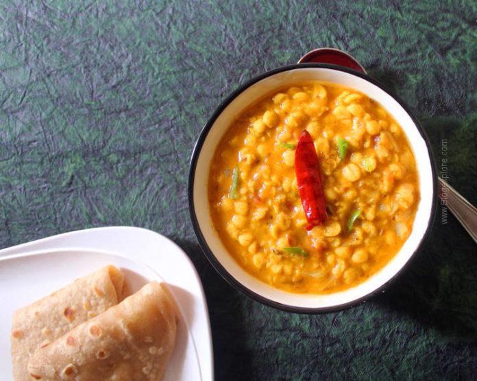 chana dal recipe, bengal gram curry, easy chana dal curry